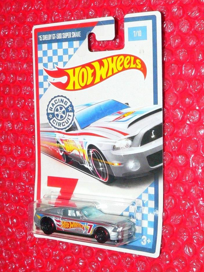 2017 Hot Wheels  '15 SHELBY GT-500 SUPER SNAKE  #7 RACING CIRCUIT DWC60-0910