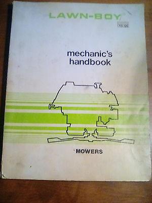 1978 LAWN-BOY LAWNMOWERS MECHANIC'S HANDBOOK MANUAL GUIDE