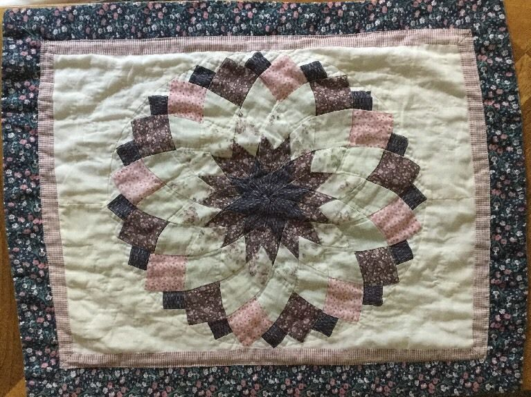 Quilted Pillow Sham Standard Size