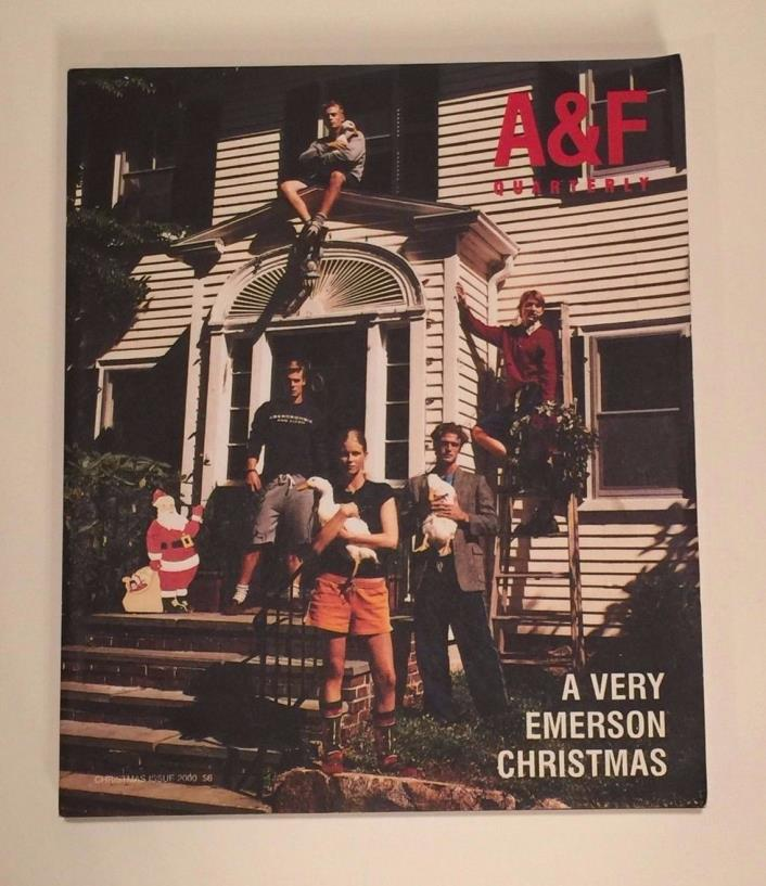 Abercrombie & Fitch Holiday 2000 Catalog