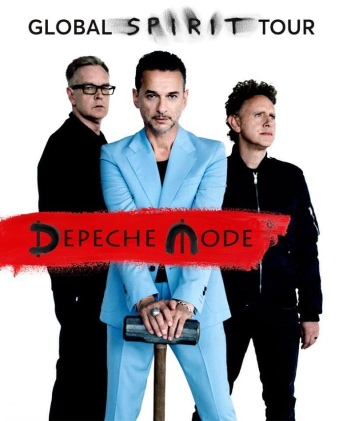 2 Tickets to Depeche Mode Hollywood Bowl Saturday Oct. 14, 2017 Terrace seats!!!
