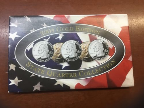 2004 Gold Edition State Quarter Collection