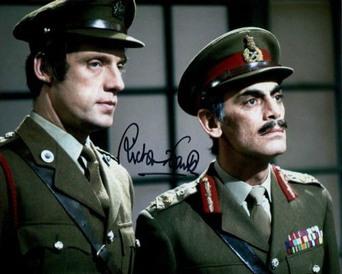 Doctor Who Richard Franklin Signed 8x10 Autograph Photo Dr Who