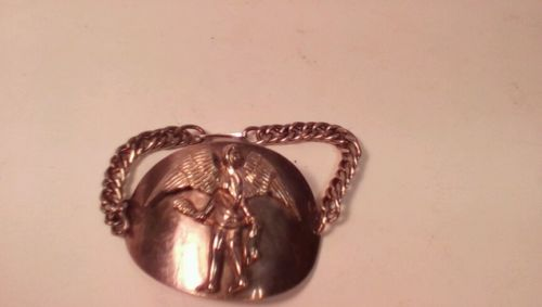 Virgo Setp. sign of the zodiac bracelet with chain