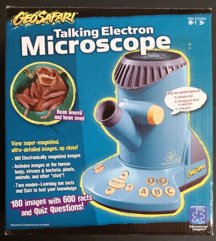 GeoSafari Talking Electron Microscope Learning Educational Scientific Toy