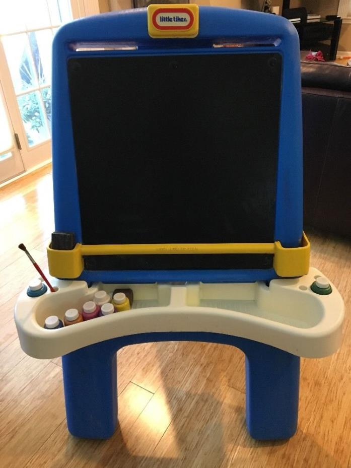 Little Tikes Foldable Chalk Board Drawing Art Easel Plastic - Local P/U or ship!
