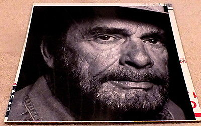 Merle Haggard If I Could Only Fly Poster Flat 2000 Face Shot