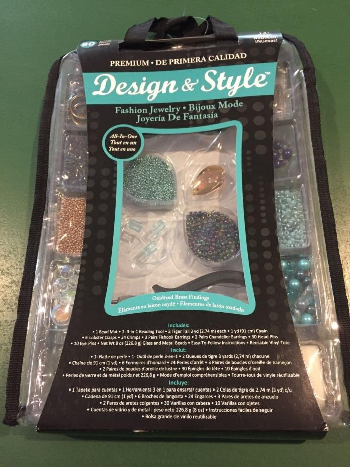 Horizon Design & Style Fashion 80-piece Jewelry Making Kit - Bijoux Mode