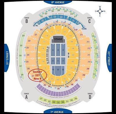Phish Baker's Dozen - 2 tickets, PTBM Sunday 7/30/17. Section  227 Row 9 @ MSG
