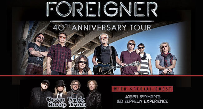 (2) tickets to FOREIGNER w CHEAP TRICK. PNC NJ 7/22/17. LAWN
