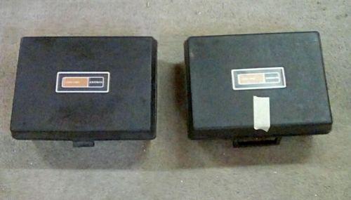Lot Of 2 Singer SM 400 Filmstrip/Slide Projectors with cases