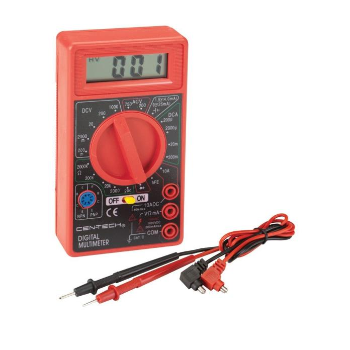 Cen-Tech 7 Function Digital Multimeter