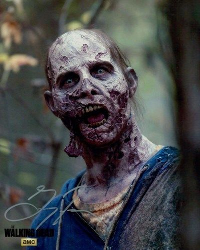 The Walking Dead Gregory French as a Walker Auto Autograph 8x10 Photo
