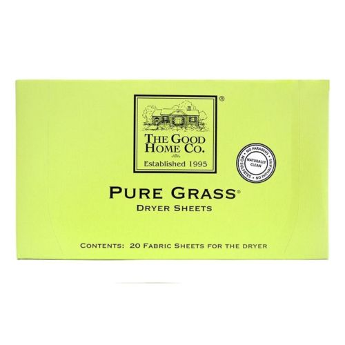 The Good Home Co. Pure Grass Dryer Sheets - 20 Count