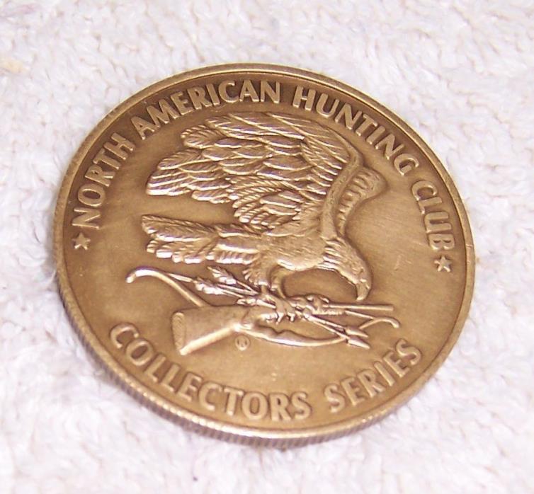 North American Hunting Club Mountain Lion Medallion