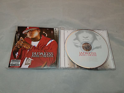 Jadakiss Autographed Kiss of Death CD Album The Lox Ruff Ryders W-COA