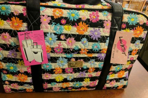 Luv betsey johnson weekender flowered lbcruisn bag $88