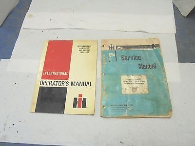 2 international harvester cub cadet operator's service manuals 682 782 tractors