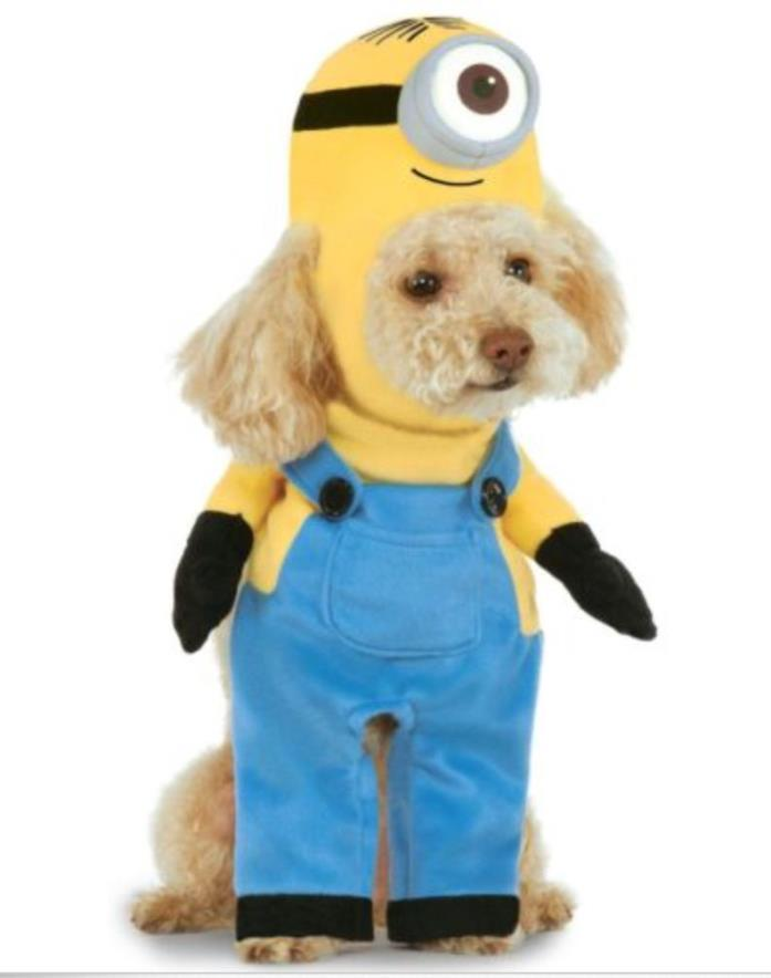 Despicable Me MINION Walking Stuart Pet Dog Costume NWT Small