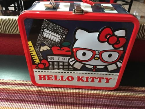 Hello Kitty Metal/Tin Lunch  Box