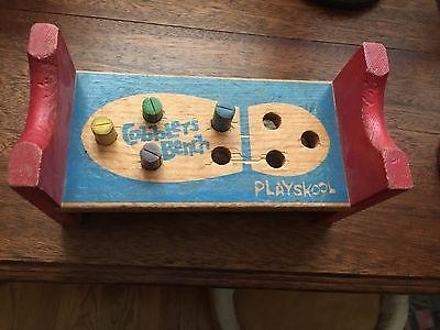 Vintage Playskool Cobblers Bench