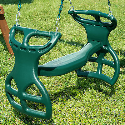 Swing-n-Slide Dual Ride Glider Green