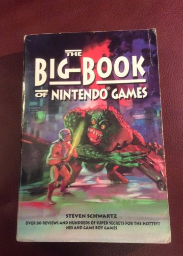 The Big Book Of Nintendo Games Steven Schwartz RARE