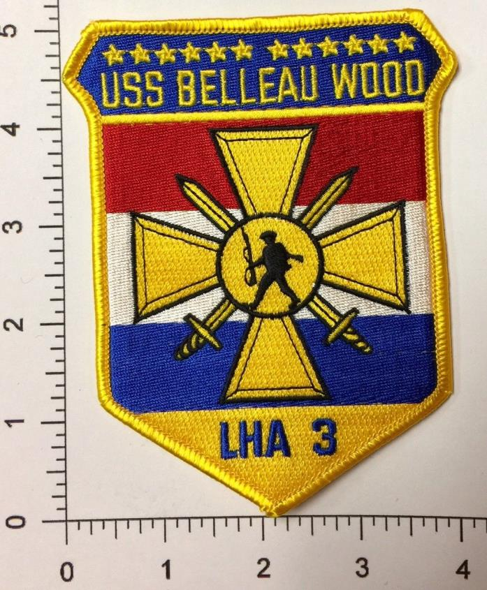 Original US Navy, USS Belleau Wood, LHA 3, Patch