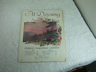 At Dawning ~  (1924) Charles Wakefield Cadman