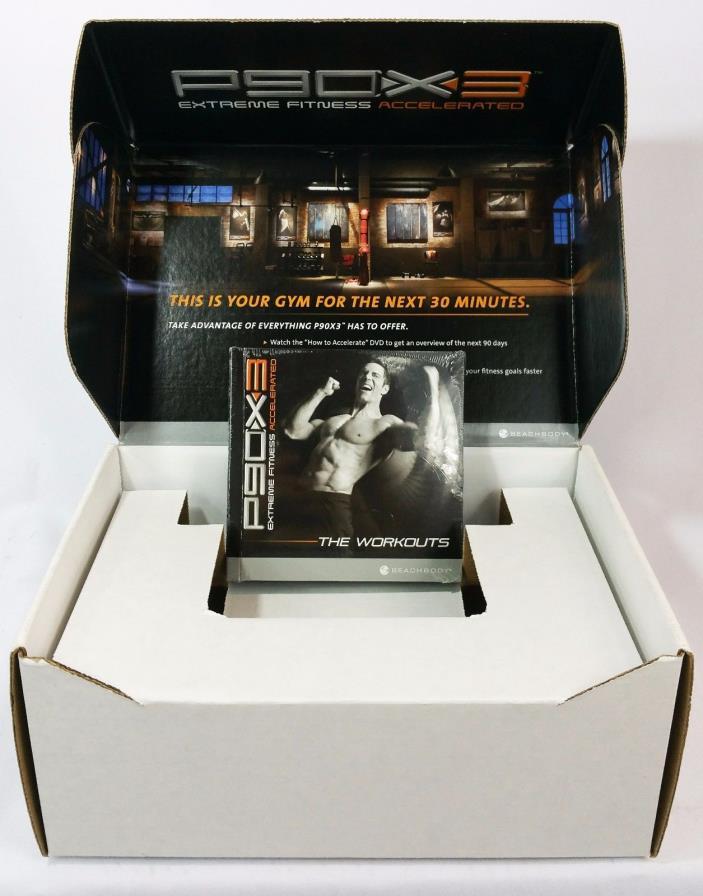 Beachbody P90X Workout BNIB DVD Fitness Extreme