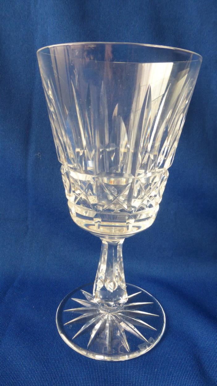 Waterford Clear Crystal Kylemore Design Water Goblet, Ireland