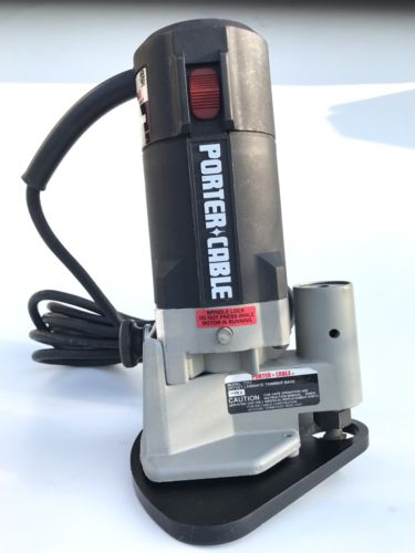 PORTER CABLE 7301 HEAVY DUTY TRIM ROUTER 7310 Offset LAMINATE TRIMMER Base 7311