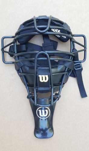 Wilson A3027 Catchers Umpire Mask Helmet baseball softball NICE CONDITION