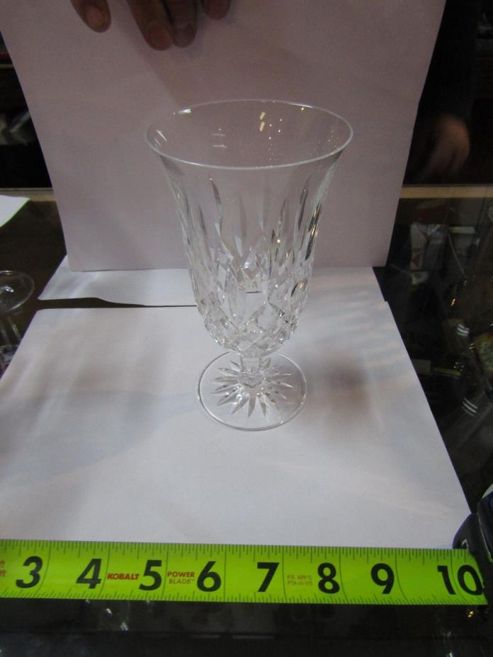 A1m SPARKLING Waterford Crystal Lismore Water Goblet Stem Single