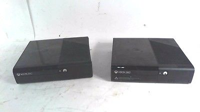 LOT OF 2 Microsoft Xbox 360 E Video Game Consoles