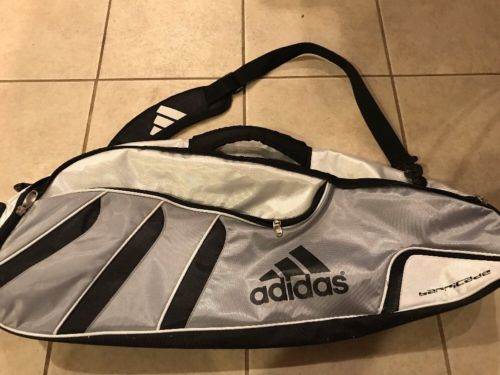 Adidas Barricade Tour Tennis Racquet Bag 2 Or 3 Silver Black