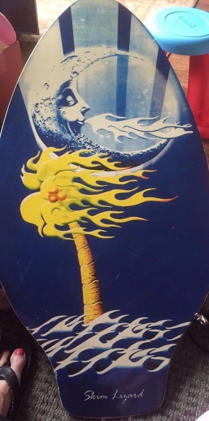 Skim Lizard Surf/Boogie Board Wood