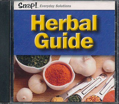 2001 SNAP! EVERYDAY SOLUTIONS HERBAL GUIDE CD