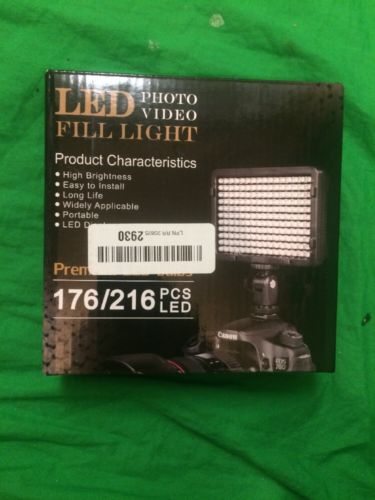 Tolifo - Led fill Light - 176/216 PCS LED - PT-176S