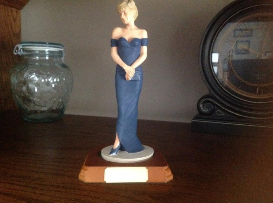 LADY PRINCESS DIANA FIGURE STATUE SCULPTURE NUMBERED LIMITED EDITION