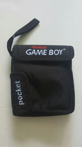 Nintendo Game Boy Pocket Carry Travel Case with Wrist Strap