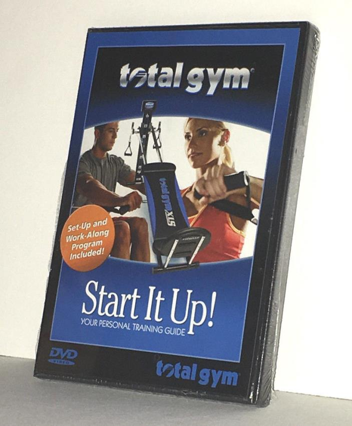 New Total Gym Start It Up Fitness Workout DVD Video Training Guide Program