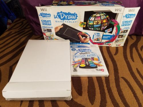 Wii uDraw Game Tablet with Studio Instant Artist New in Box Free Shipping