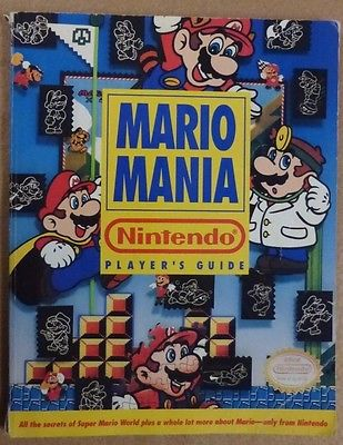 MARIO MANIA Nintendo Player's Guide SUPER MARIO WORLD