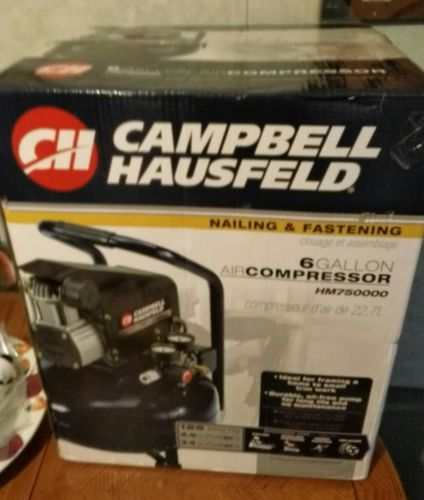 Campbell Hausfeld 6 gallon air compressor