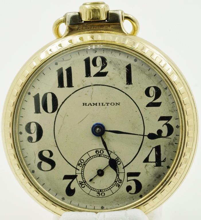 Hamilton R.R. 21 Jewel 992 Pocket Watch