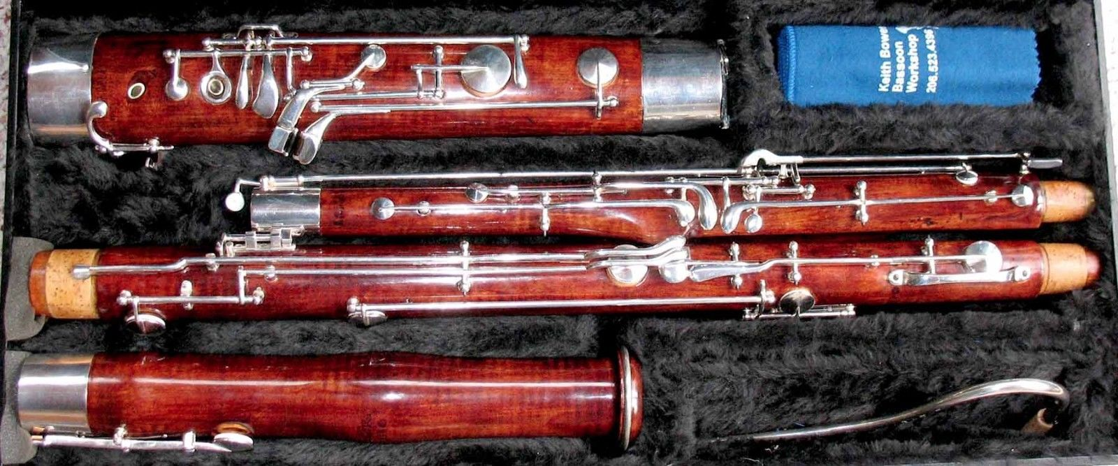 Heckel bassoon, beautiful sound and intonation