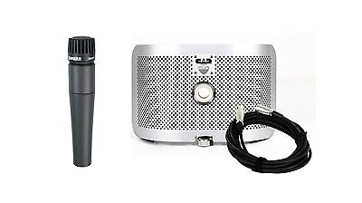 Shure SM57 Microphone w/ CAD AS16 Acoustic Shield & Cable