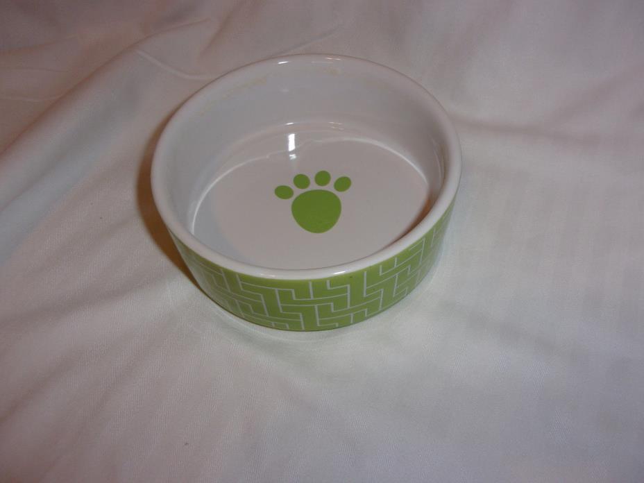 Petrageous pets paws design dish bowl