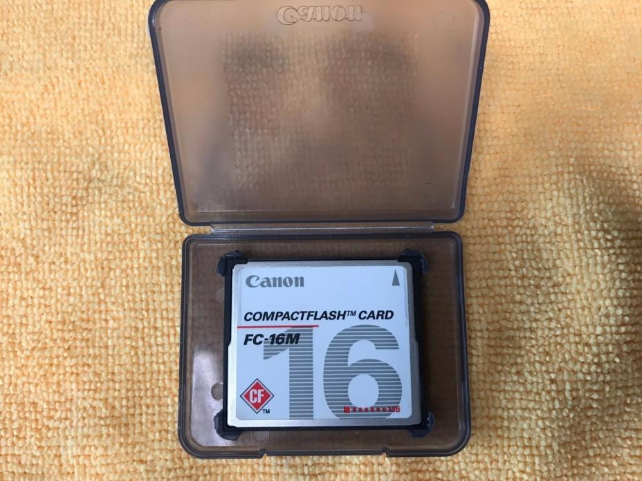 Canon CF card FC-16M 16 MB